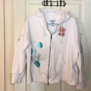 Disney full zip hoodie TinkerBell sweatshirt